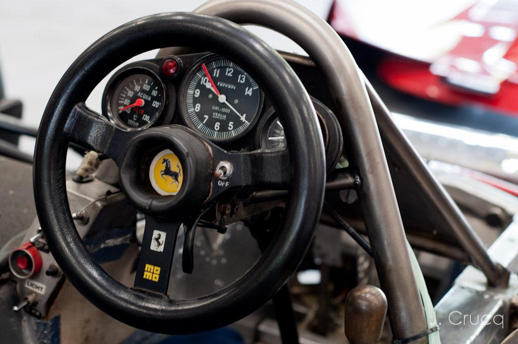 Modena Trackdays Spa Franchormchamps Ferrari Dashboard
