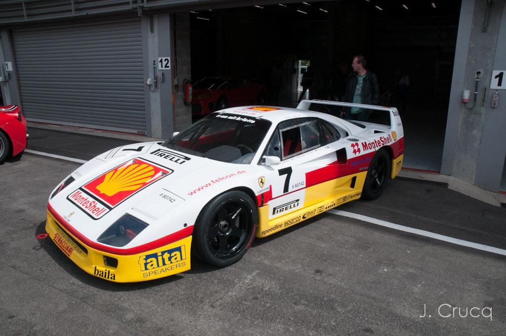Modena Trackdays Spa Franchormchamps Ferrari F40