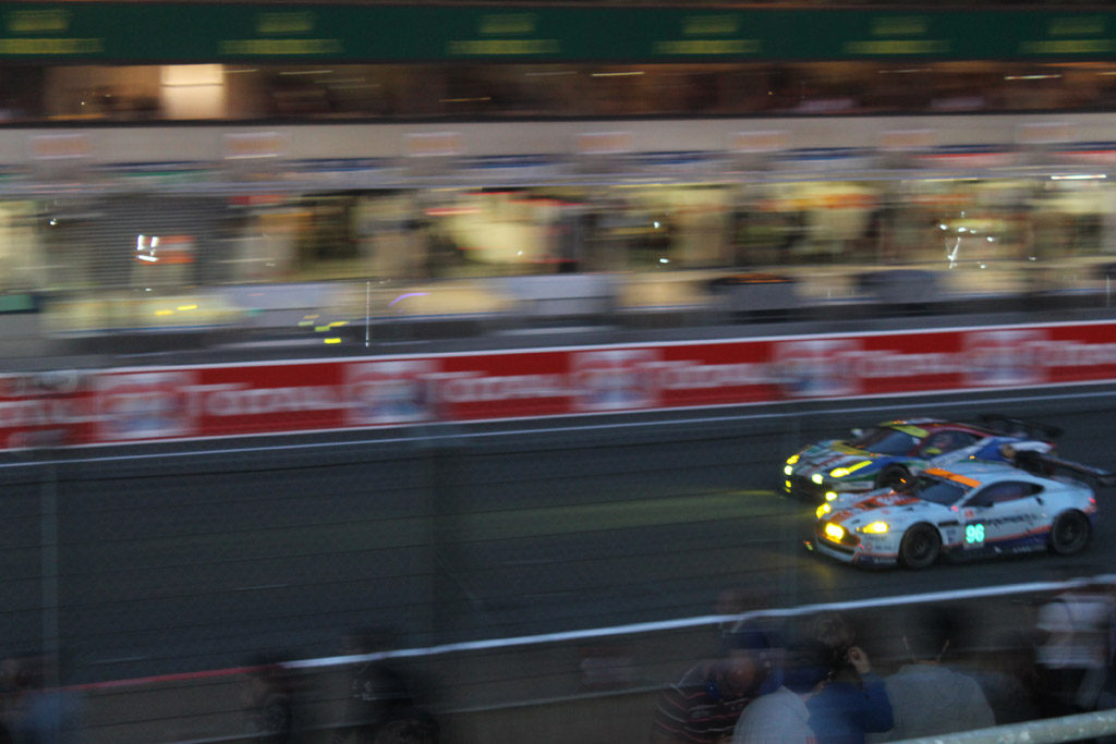 Overtaken in Lemans