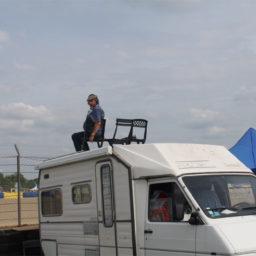 Camping Expo & de grote autoshow van Le Mans