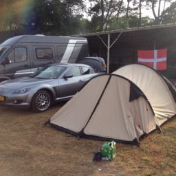 Proefritje in de RX8 naar Le Mans