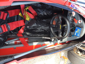 Paddock Historic GP Zandvoort Cockpit