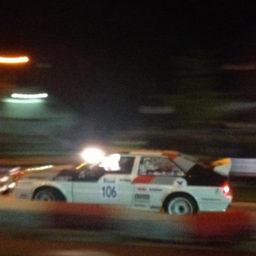 GTC Rally spektakel in de Nacht van Achtmaal.