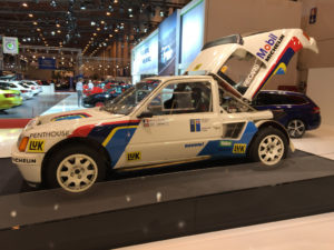 Essen Autoshow Peugeot 205 Rally Group B