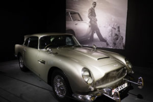 Aston Martin DB4 James Bond Louwman Museum