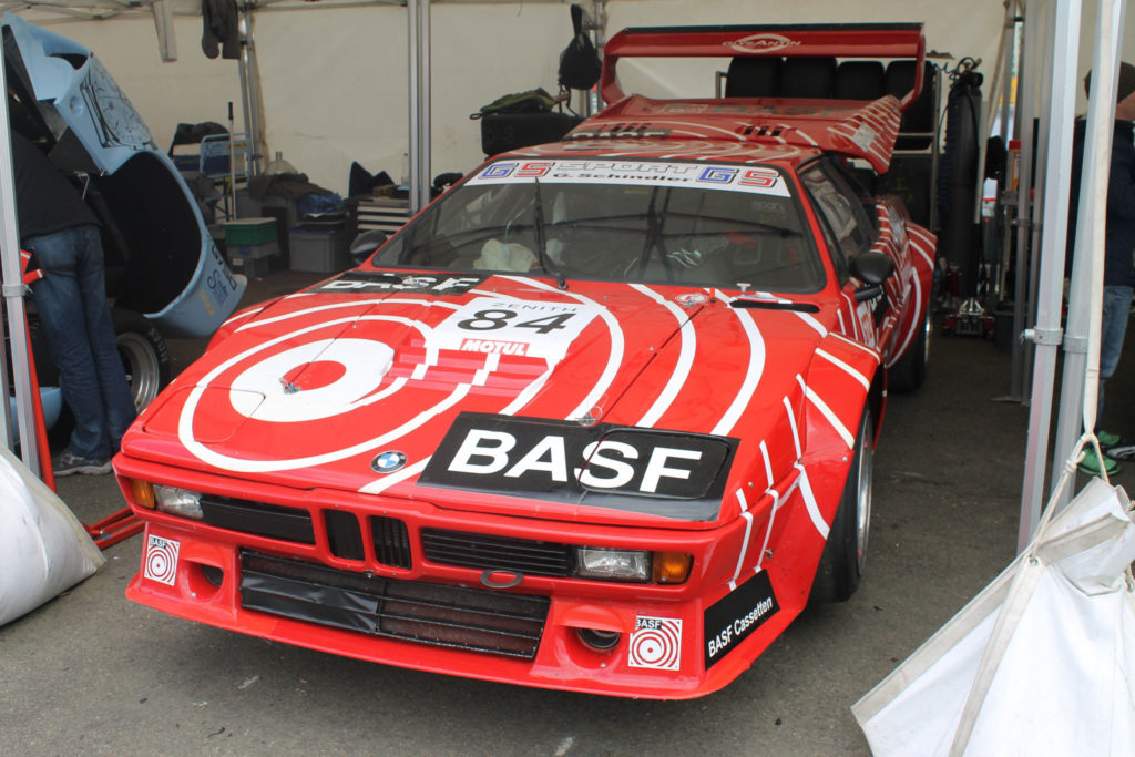 Spa Classic Garage pitbox BMW M1 Pro Car
