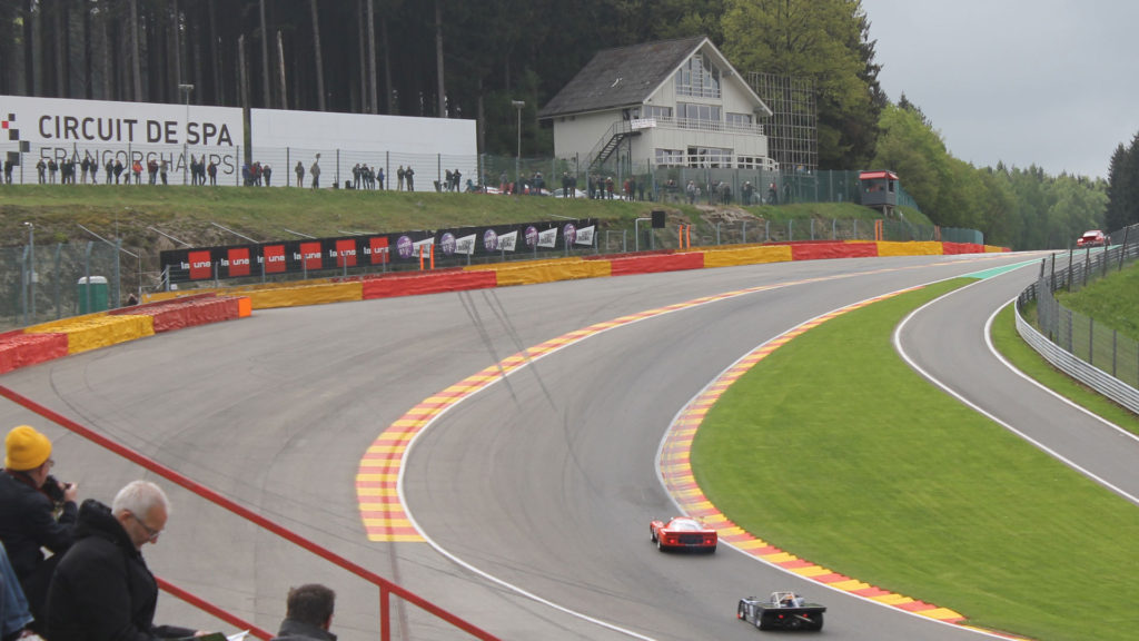 Spa Classic Eau rouge Racen op Circuit Spa Francorchamps