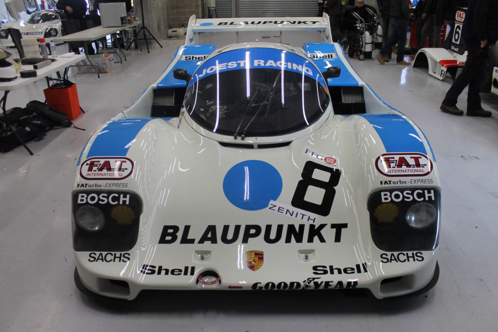 Spa Classic Garage group c porsche