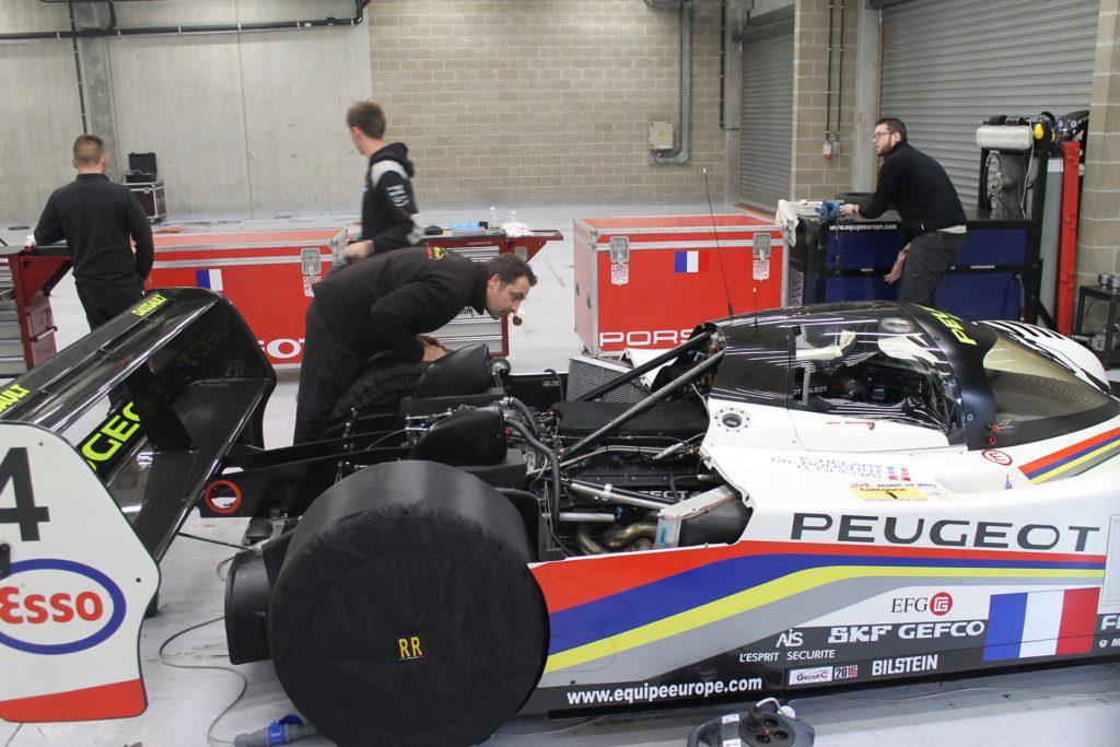 Spa Classic Garage peugeot 905