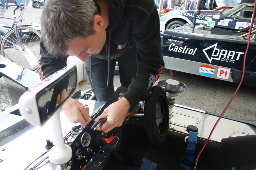 Spa Classic Garage pitbox