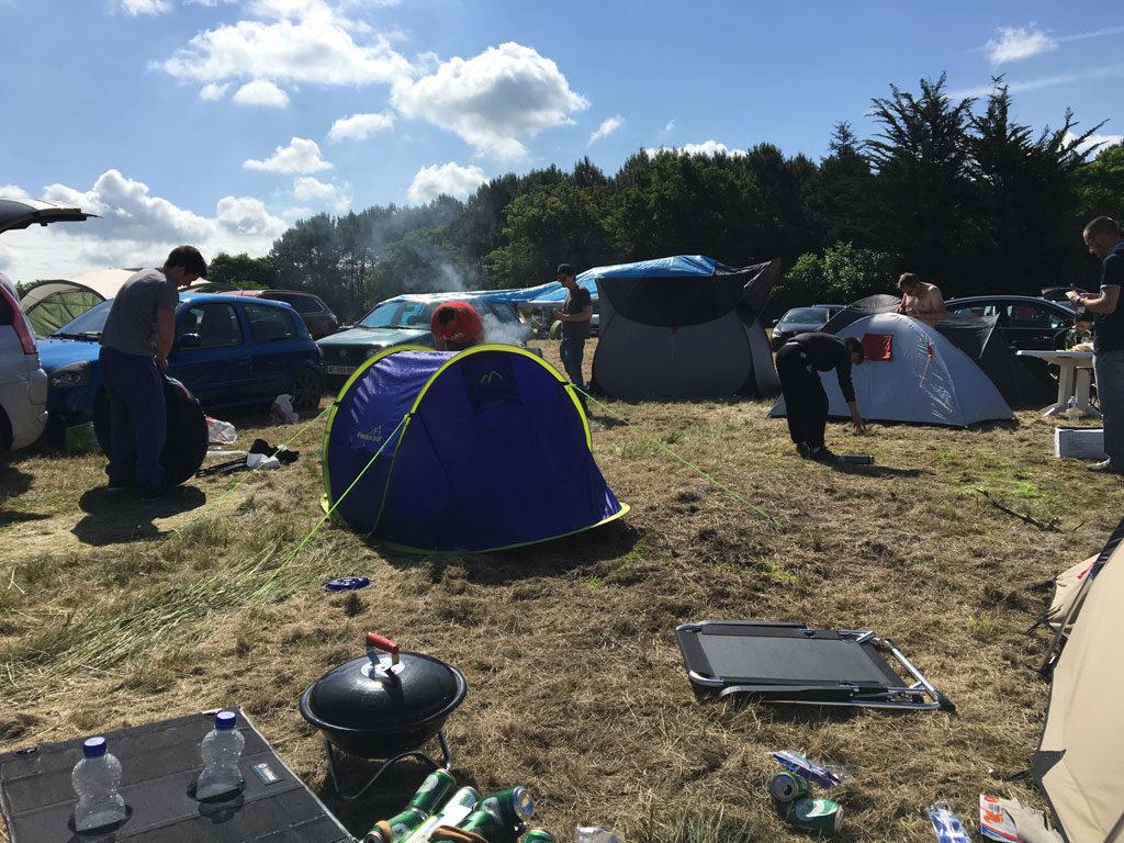 Camping modderpoel 24 uren lemans