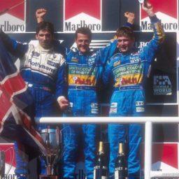 Het eerste F1 podium van Verstappen in Hongarije.