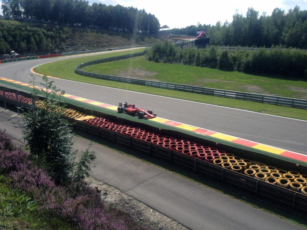 Ferrari F1 Pouhon toeschouwer gp belgië