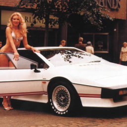 De whatsappgroep in de ban van de Lotus Esprit