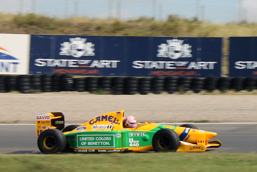 Benetton Ford Schumacher Historic gp