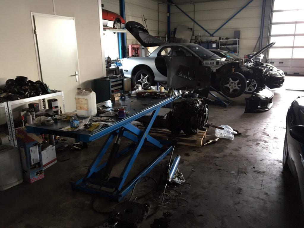 Mazda RX7 Hoebeke