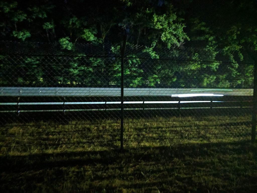 Le Mans nacht Mulsanne