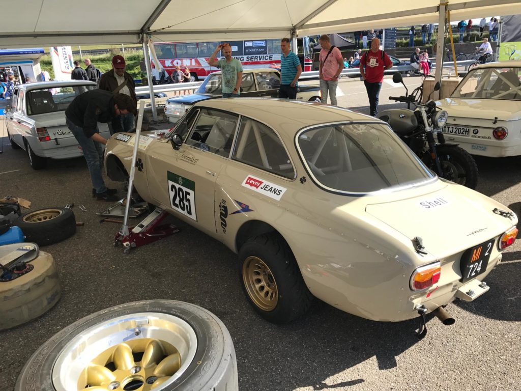 Alfa Romeo GTV Historic Gp