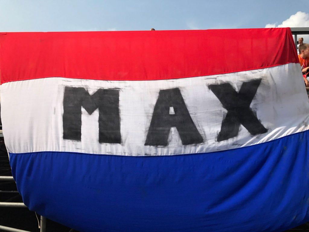 Max Verstappen vlag